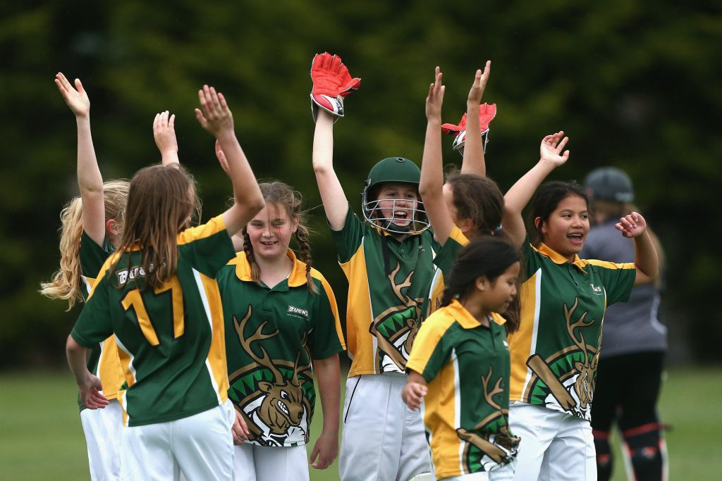 HOBART, AUSTRALIA - NOVEMBER 22:  during the Hurricanes Girls Leaguw U14 match on November 22, 2016 in Hobart, Australia.  (Photo by Robert Prezioso - CA/Cricket Australia/Getty Images)
