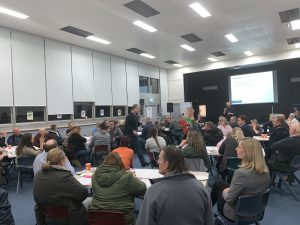Approximately 100 residents and community members including Education Minister Jremy Rockliff, Opposition Leader Rebecca White, Mayor Tony Foster and a number of Brighton councillors, attended the Education Department's consultation session.