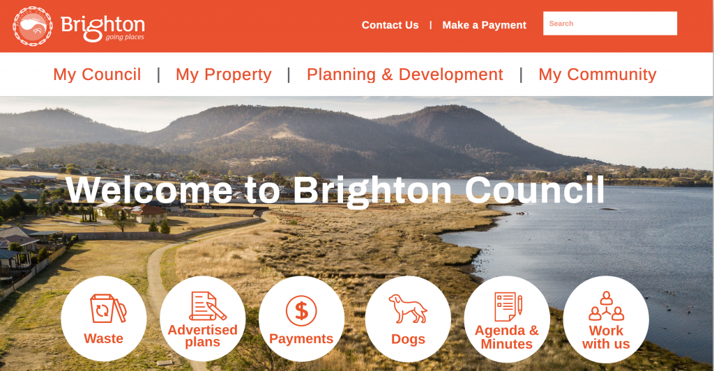 Brighton council website