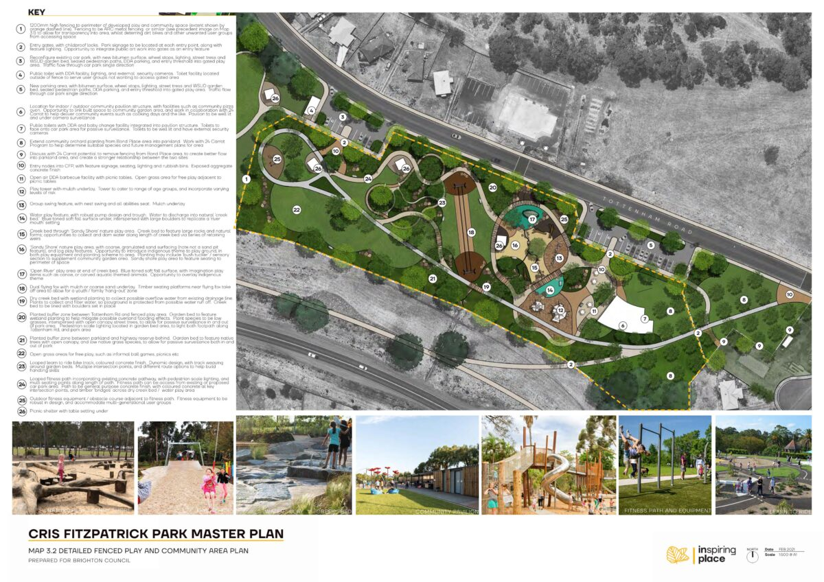 Cris Fitzpatrick Park Masterplan – a space to play